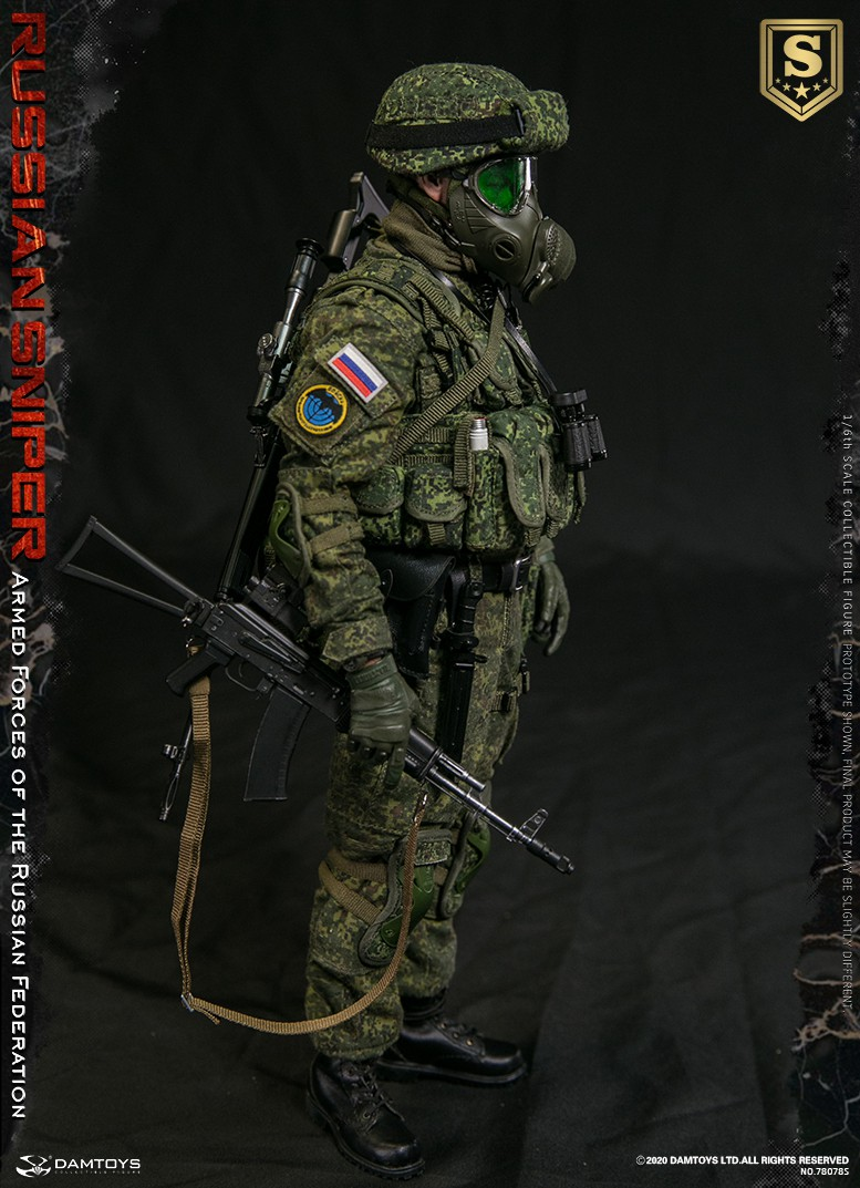 modernmilitary - NEW PRODUCT: DAMTOYS: 1/6 Russian Armed Forces-Russian Sniper Special Edition 78078S / Elite Edition 78078 16085710