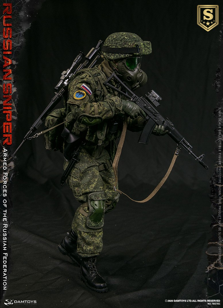 modernmilitary - NEW PRODUCT: DAMTOYS: 1/6 Russian Armed Forces-Russian Sniper Special Edition 78078S / Elite Edition 78078 16085711