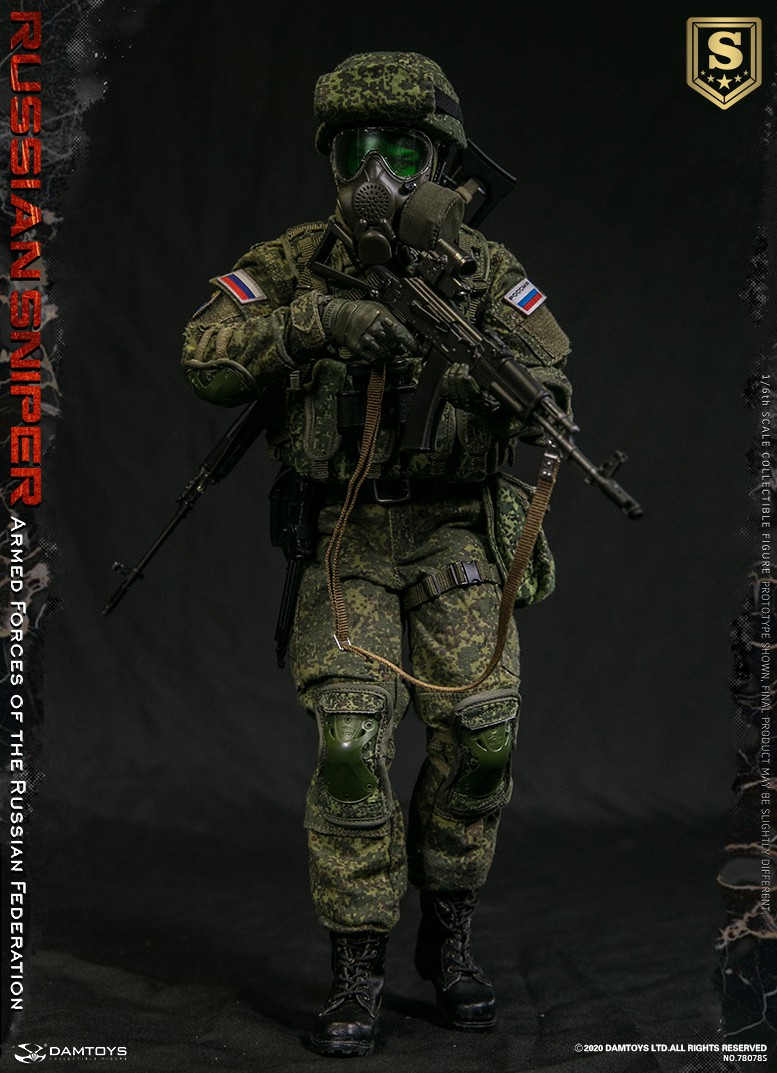 modernmilitary - NEW PRODUCT: DAMTOYS: 1/6 Russian Armed Forces-Russian Sniper Special Edition 78078S / Elite Edition 78078 16085810