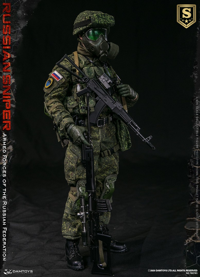 modernmilitary - NEW PRODUCT: DAMTOYS: 1/6 Russian Armed Forces-Russian Sniper Special Edition 78078S / Elite Edition 78078 16085811