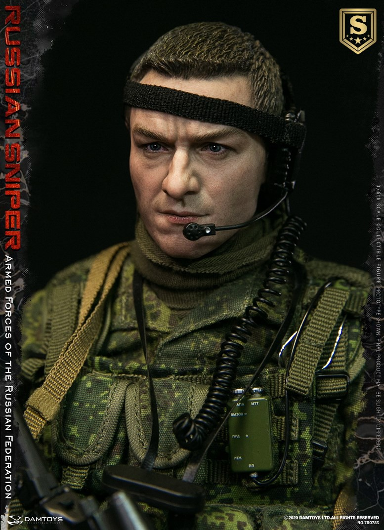 modernmilitary - NEW PRODUCT: DAMTOYS: 1/6 Russian Armed Forces-Russian Sniper Special Edition 78078S / Elite Edition 78078 16085911