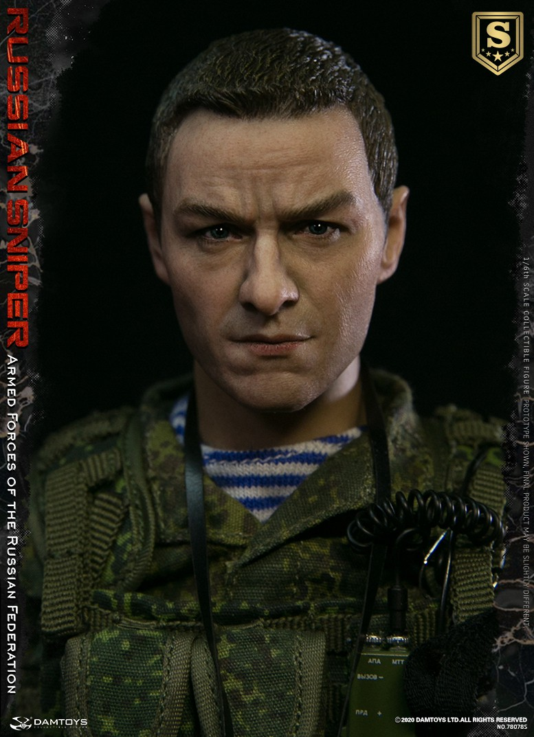 modernmilitary - NEW PRODUCT: DAMTOYS: 1/6 Russian Armed Forces-Russian Sniper Special Edition 78078S / Elite Edition 78078 16090010