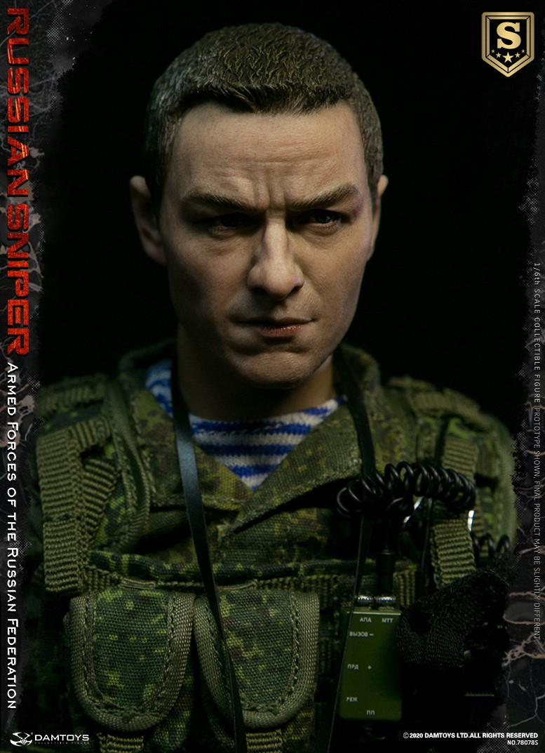 modernmilitary - NEW PRODUCT: DAMTOYS: 1/6 Russian Armed Forces-Russian Sniper Special Edition 78078S / Elite Edition 78078 16090011