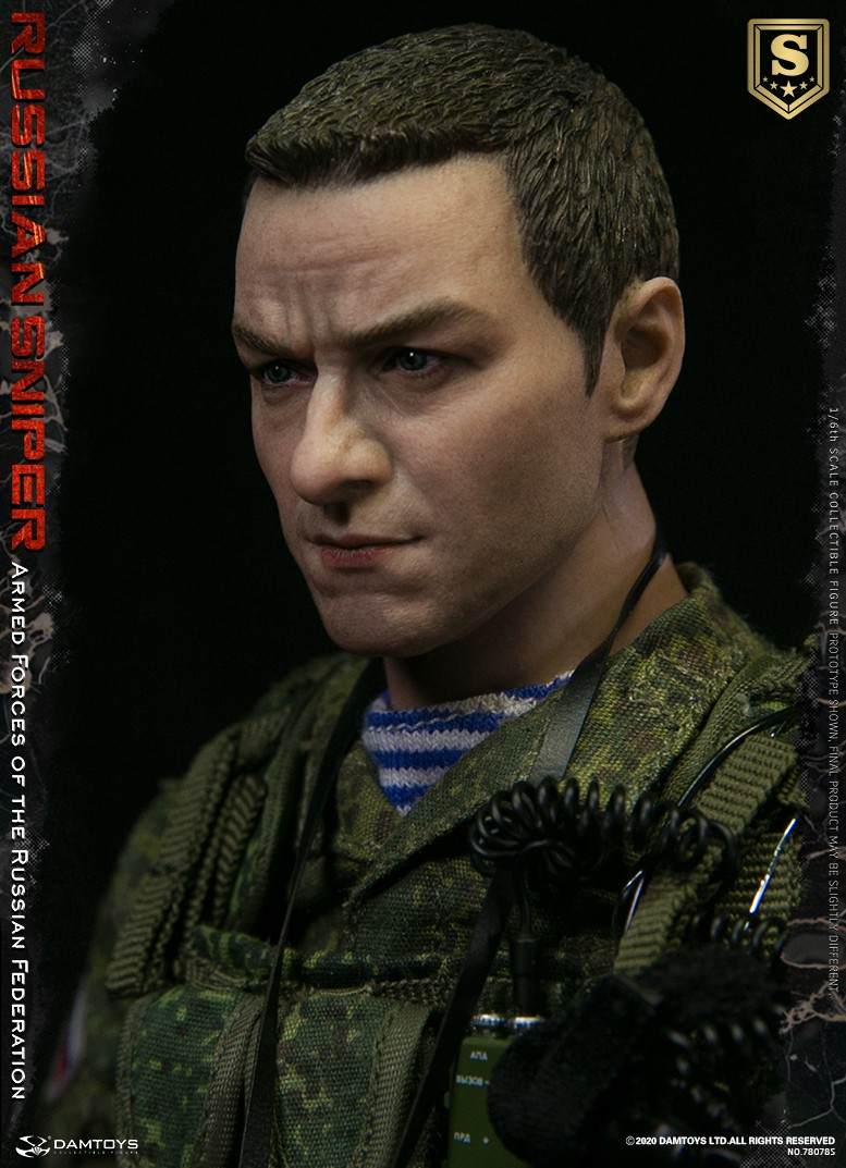 modernmilitary - NEW PRODUCT: DAMTOYS: 1/6 Russian Armed Forces-Russian Sniper Special Edition 78078S / Elite Edition 78078 16090110