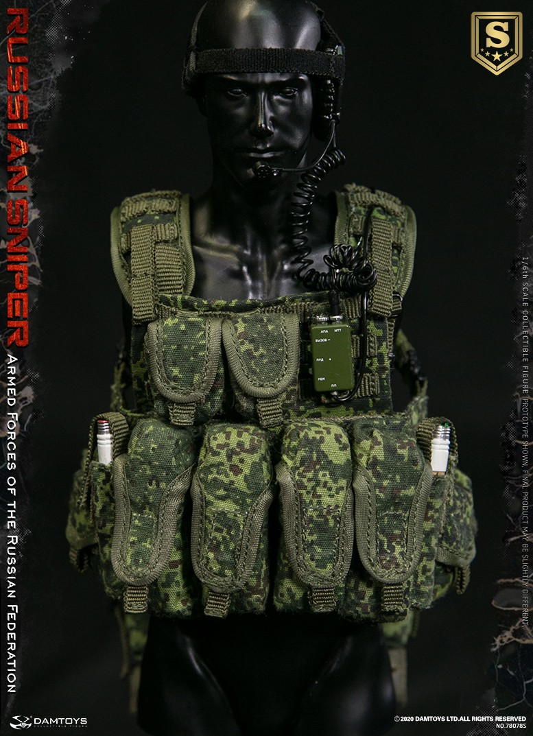 modernmilitary - NEW PRODUCT: DAMTOYS: 1/6 Russian Armed Forces-Russian Sniper Special Edition 78078S / Elite Edition 78078 16090410