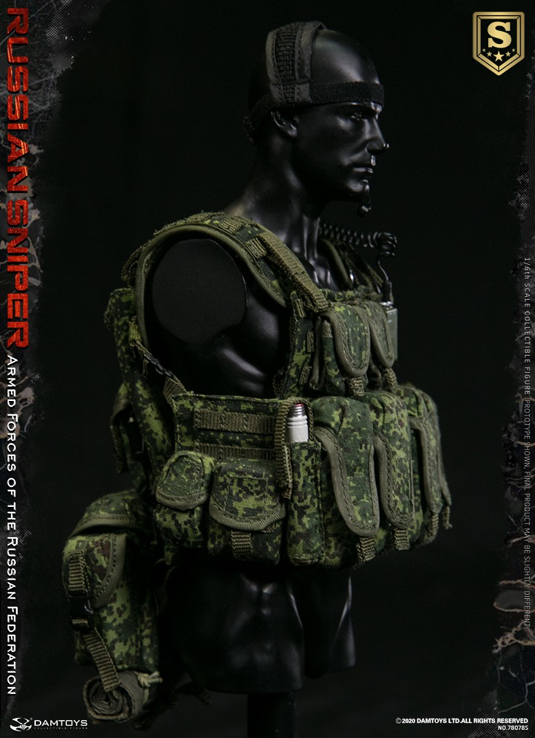 modernmilitary - NEW PRODUCT: DAMTOYS: 1/6 Russian Armed Forces-Russian Sniper Special Edition 78078S / Elite Edition 78078 16090411