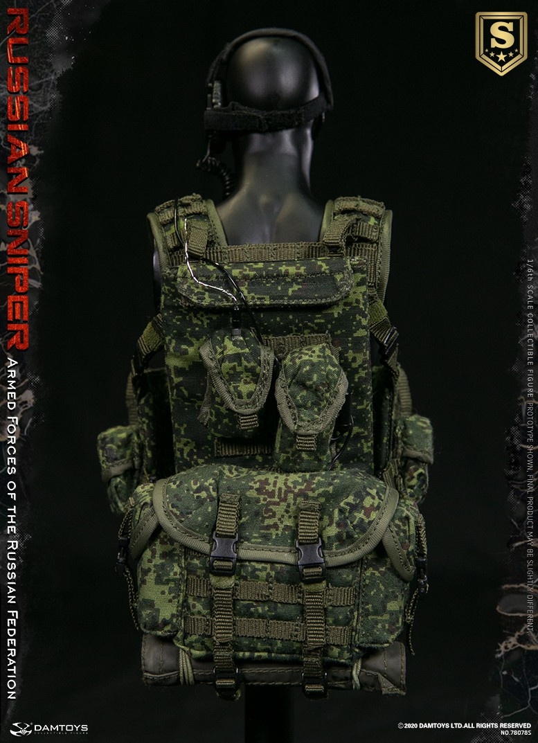 modernmilitary - NEW PRODUCT: DAMTOYS: 1/6 Russian Armed Forces-Russian Sniper Special Edition 78078S / Elite Edition 78078 16090510