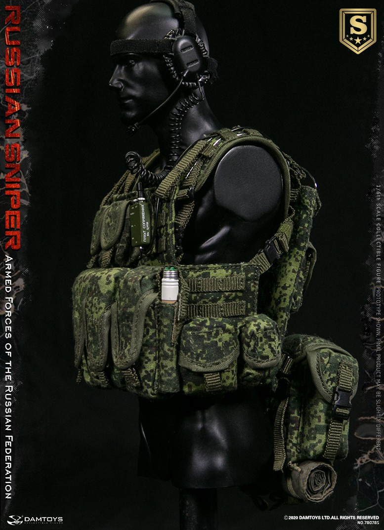 modernmilitary - NEW PRODUCT: DAMTOYS: 1/6 Russian Armed Forces-Russian Sniper Special Edition 78078S / Elite Edition 78078 16090511