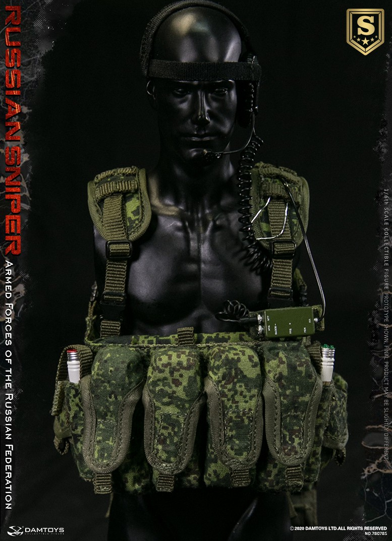 modernmilitary - NEW PRODUCT: DAMTOYS: 1/6 Russian Armed Forces-Russian Sniper Special Edition 78078S / Elite Edition 78078 16090610