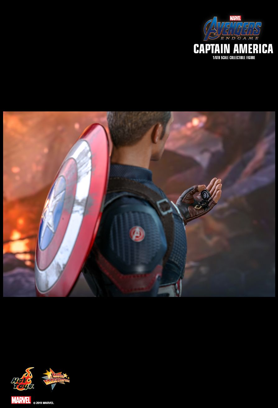 captainamerica - NEW PRODUCT: HOT TOYS: AVENGERS: ENDGAME CAPTAIN AMERICA 1/6TH SCALE COLLECTIBLE FIGURE 16100