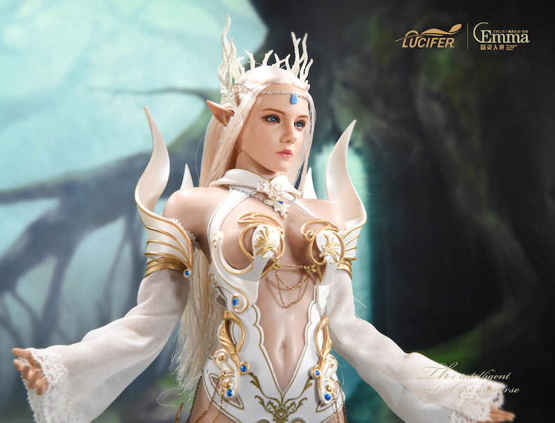 fantasy - NEW PRODUCT: [LXF-1904B] Elf Queen Emma Queen Version 1:6 Figure by Lucifer 16109