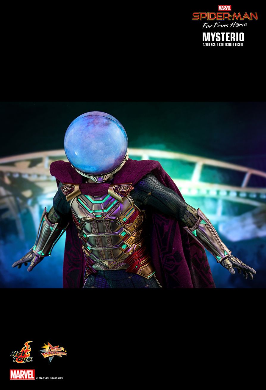 NEW PRODUCT: HOT TOYS: SPIDER-MAN: FAR FROM HOME MYSTERIO 1/6TH SCALE COLLECTIBLE FIGURE 16123
