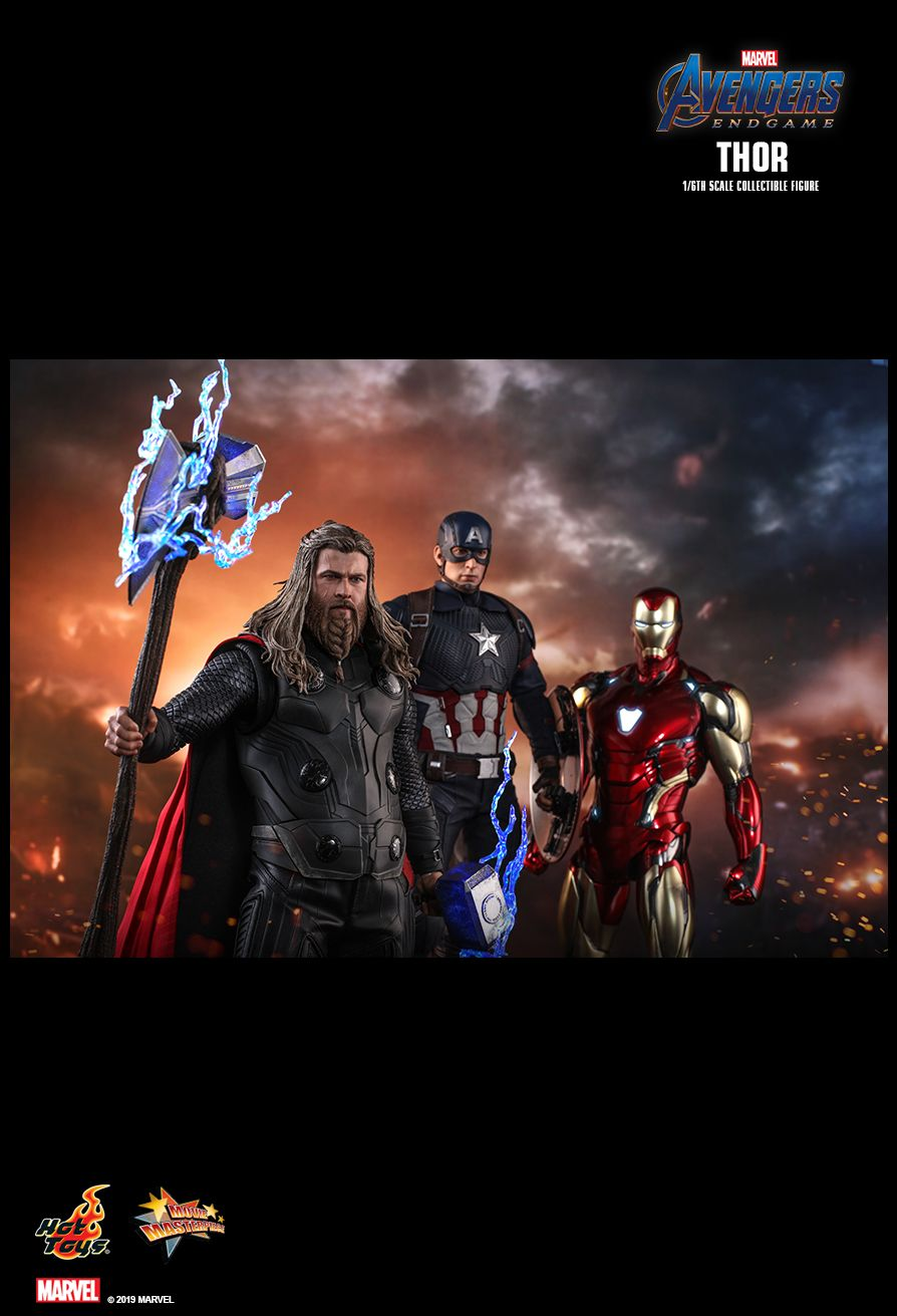 male - NEW PRODUCT: HOT TOYS: AVENGERS: ENDGAME THOR 1/6TH SCALE COLLECTIBLE FIGURE 16129