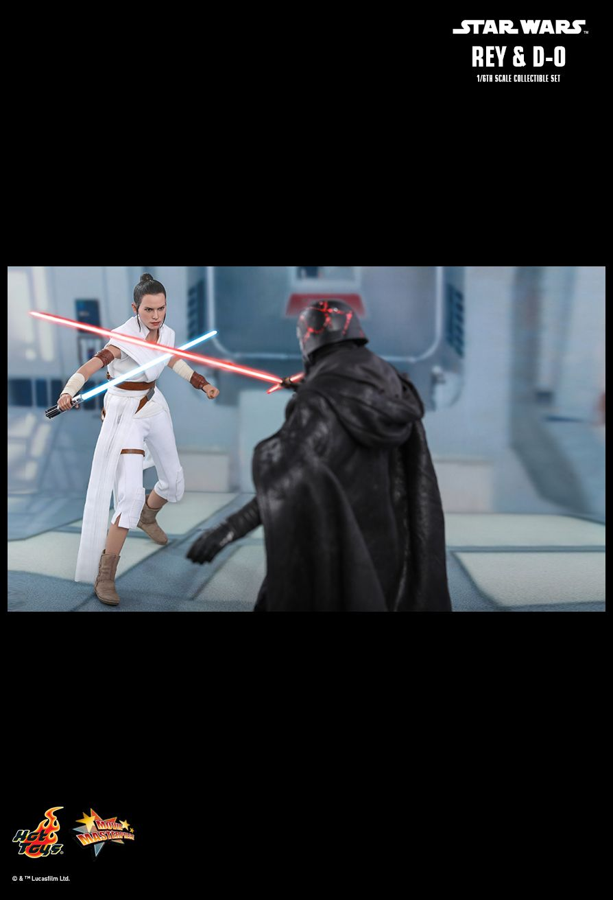 Rey - NEW PRODUCT: HOT TOYS: STAR WARS: THE RISE OF SKYWALKER REY AND D-O 1/6TH SCALE COLLECTIBLE FIGURE 16133