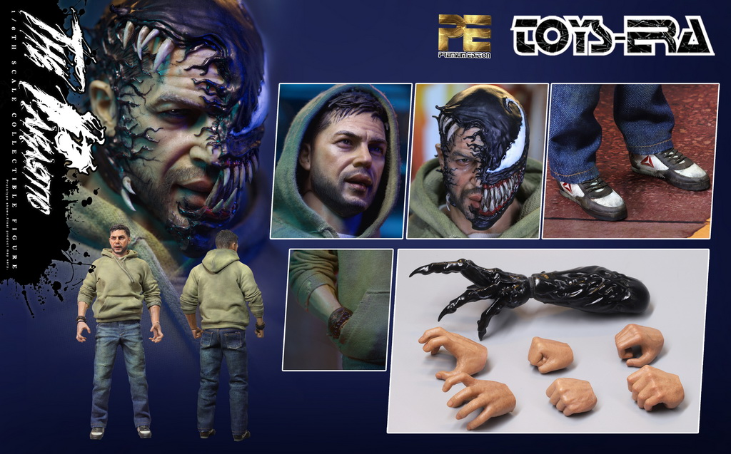 parasitic symbiosis - NEW PRODUCT: Toys Era New: PE003 1/6 The Parasitic Symbiosis (Normal / Deluxe / Special Effects) (updated with info) 16134010