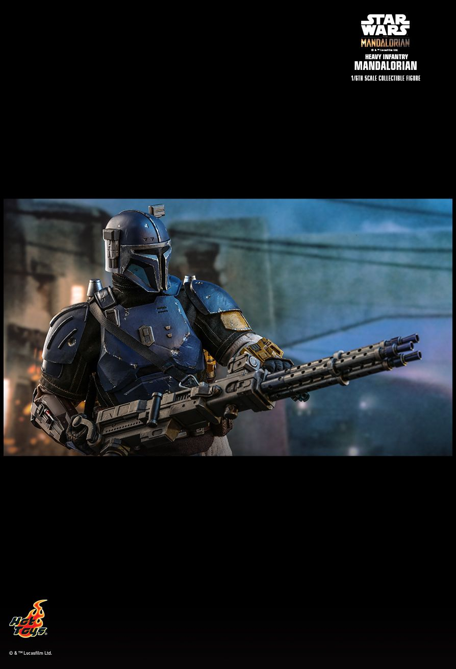 sci-fi - NEW PRODUCT: HOT TOYS: THE MANDALORIAN: HEAVY INFANTRY MANDALORIAN 1/6TH SCALE COLLECTIBLE FIGURE 16137