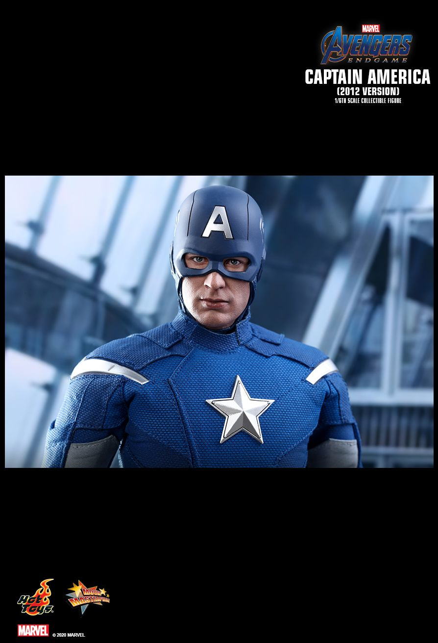 movie - NEW PRODUCT: HOT TOYS: AVENGERS: ENDGAME CAPTAIN AMERICA (2012 VERSION) 1/6TH SCALE COLLECTIBLE FIGURE 16142