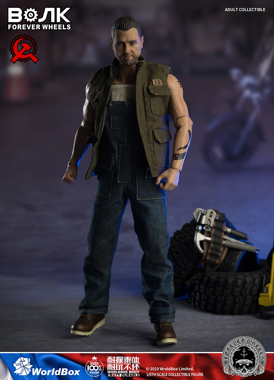 male - NEW PRODUCT: Worldbox: 1/6 Motor Mechanic / Machine Repair Mobile Action AT031# 16143110