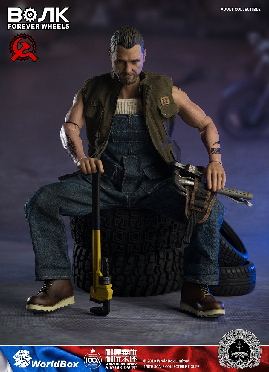 male - NEW PRODUCT: Worldbox: 1/6 Motor Mechanic / Machine Repair Mobile Action AT031# 16143510