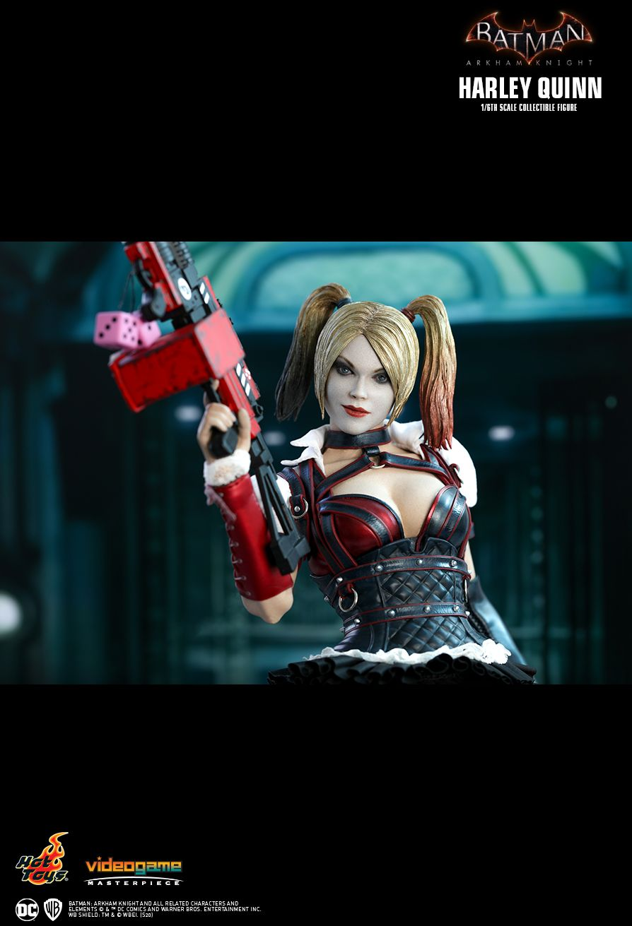 HarleyQuinn - NEW PRODUCT: HOT TOYS: BATMAN: ARKHAM KNIGHT HARLEY QUINN 1/6TH SCALE COLLECTIBLE FIGURE 16160