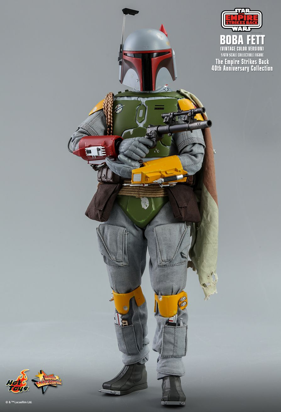 sci-fi - NEW PRODUCT: HOT TOYS: STAR WARS: THE EMPIRE STRIKES BACK™ BOBA FETT™ (VINTAGE COLOR VERSION) (40TH ANNIVERSARY COLLECTION) 1/6TH SCALE COLLECTIBLE FIGURE 16169