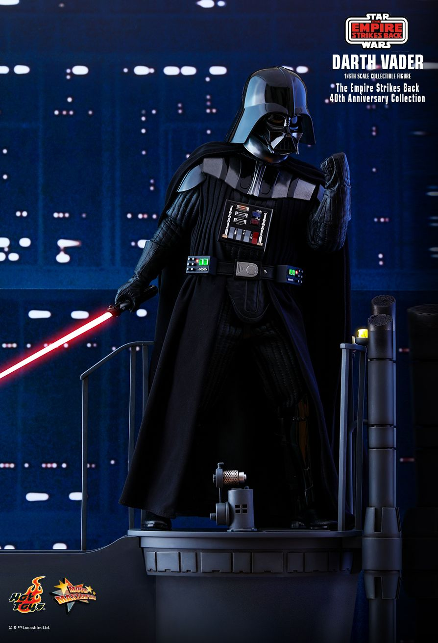 40thAnniversaryCollection - NEW PRODUCT: HOT TOYS: STAR WARS: THE EMPIRE STRIKES BACK™ DARTH VADER™ (40TH ANNIVERSARY COLLECTION) 1/6TH SCALE COLLECTIBLE FIGURE 16170