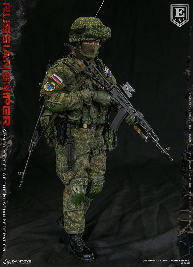 modernmilitary - NEW PRODUCT: DAMTOYS: 1/6 Russian Armed Forces-Russian Sniper Special Edition 78078S / Elite Edition 78078 16171210