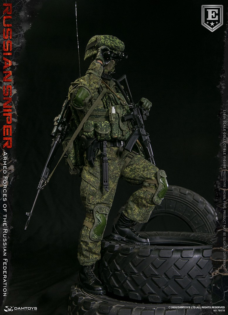 modernmilitary - NEW PRODUCT: DAMTOYS: 1/6 Russian Armed Forces-Russian Sniper Special Edition 78078S / Elite Edition 78078 16171311