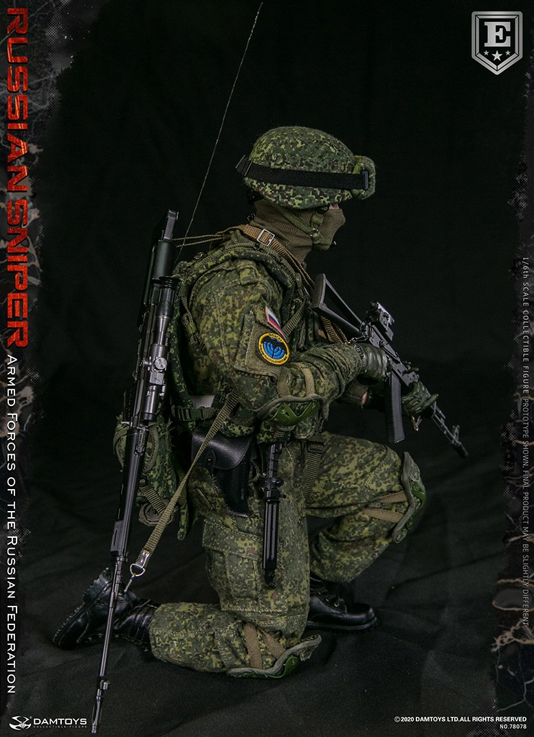 modernmilitary - NEW PRODUCT: DAMTOYS: 1/6 Russian Armed Forces-Russian Sniper Special Edition 78078S / Elite Edition 78078 16171411