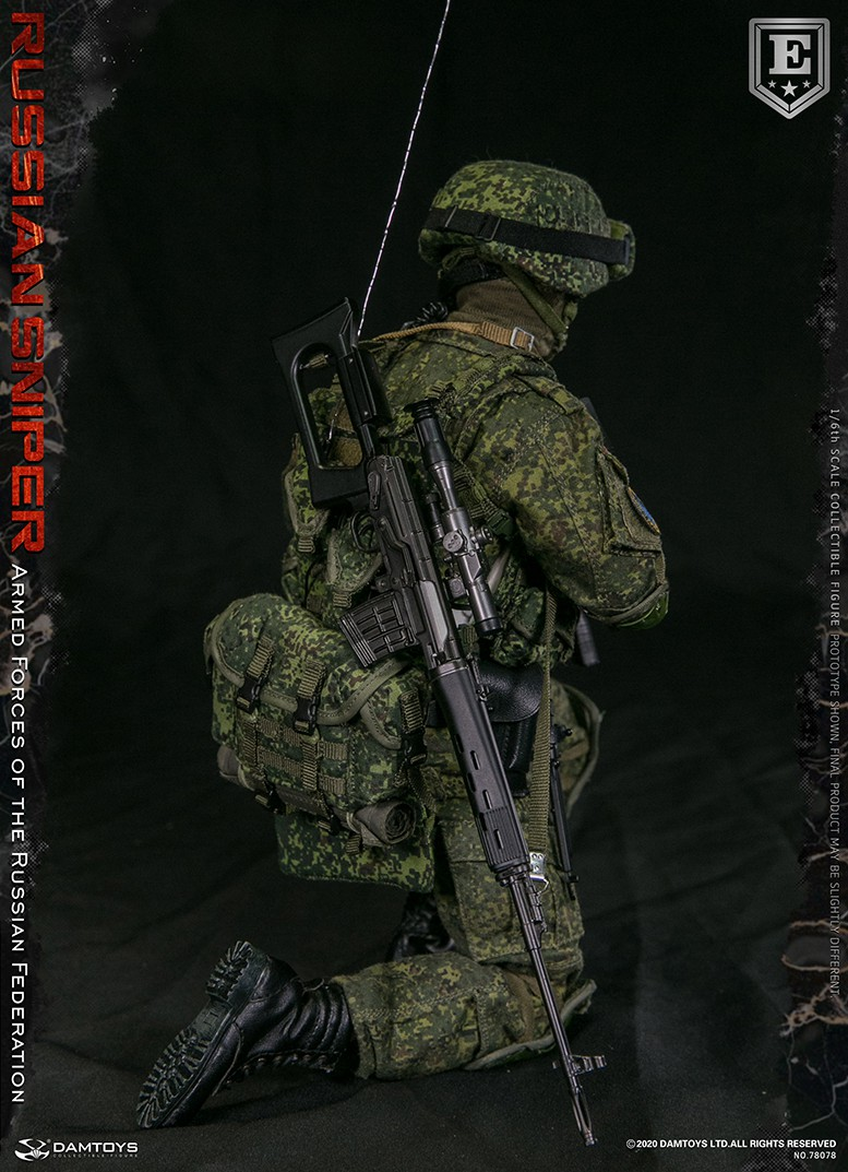 modernmilitary - NEW PRODUCT: DAMTOYS: 1/6 Russian Armed Forces-Russian Sniper Special Edition 78078S / Elite Edition 78078 16171510