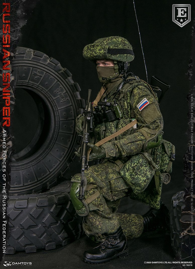 modernmilitary - NEW PRODUCT: DAMTOYS: 1/6 Russian Armed Forces-Russian Sniper Special Edition 78078S / Elite Edition 78078 16171610