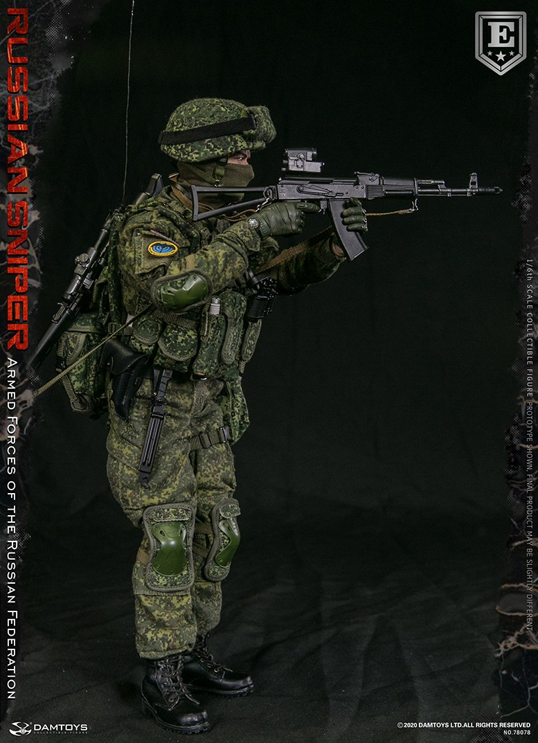 modernmilitary - NEW PRODUCT: DAMTOYS: 1/6 Russian Armed Forces-Russian Sniper Special Edition 78078S / Elite Edition 78078 16171611