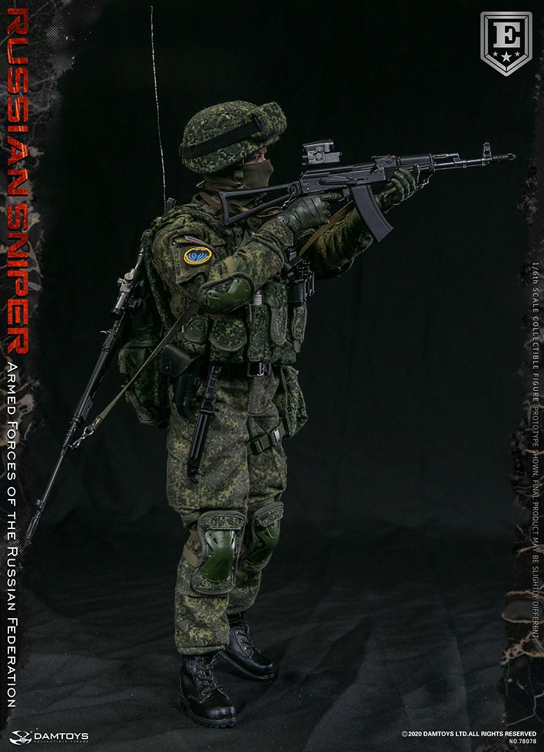 modernmilitary - NEW PRODUCT: DAMTOYS: 1/6 Russian Armed Forces-Russian Sniper Special Edition 78078S / Elite Edition 78078 16171710