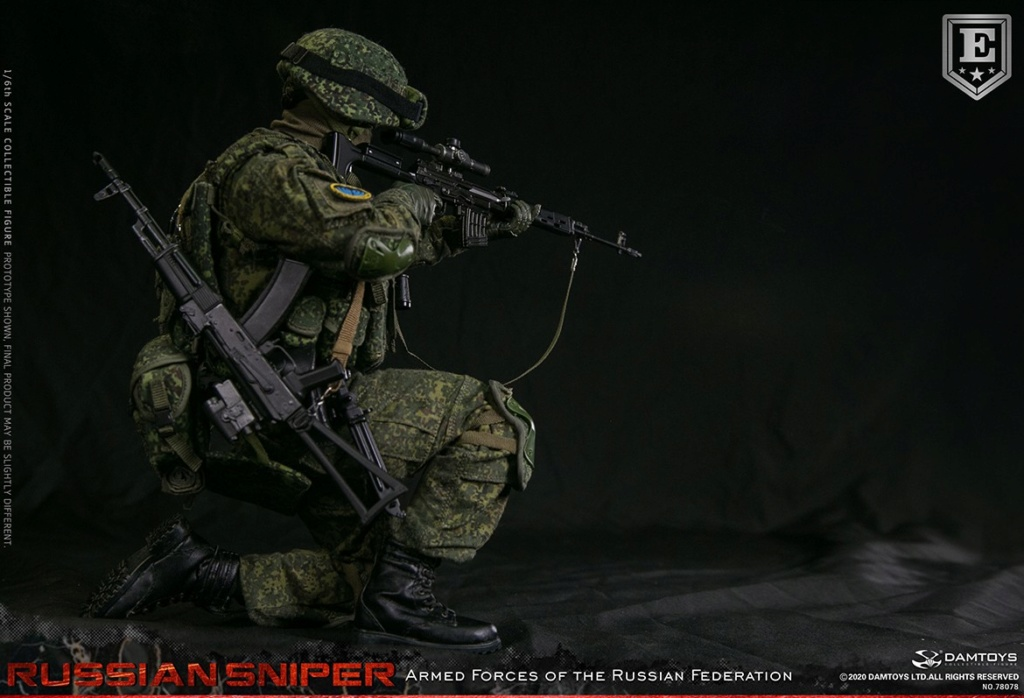modernmilitary - NEW PRODUCT: DAMTOYS: 1/6 Russian Armed Forces-Russian Sniper Special Edition 78078S / Elite Edition 78078 16171711