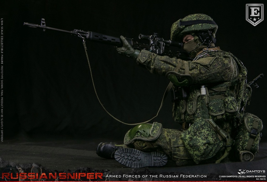 modernmilitary - NEW PRODUCT: DAMTOYS: 1/6 Russian Armed Forces-Russian Sniper Special Edition 78078S / Elite Edition 78078 16171810