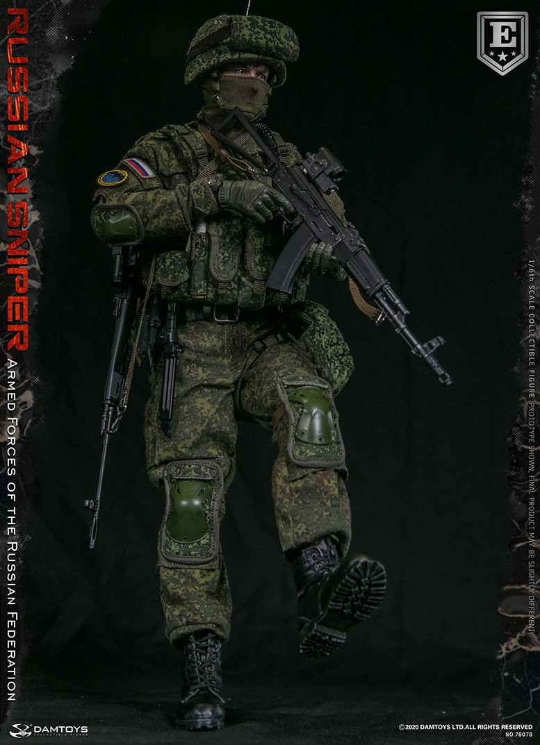 modernmilitary - NEW PRODUCT: DAMTOYS: 1/6 Russian Armed Forces-Russian Sniper Special Edition 78078S / Elite Edition 78078 16171910