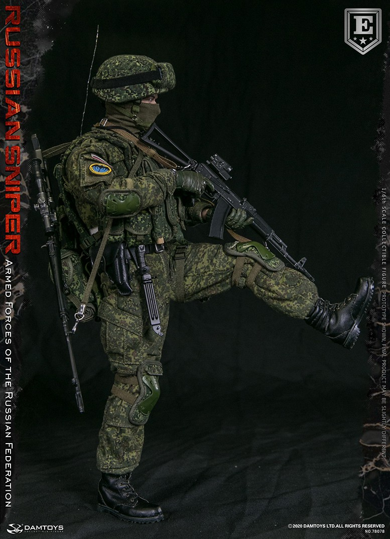 modernmilitary - NEW PRODUCT: DAMTOYS: 1/6 Russian Armed Forces-Russian Sniper Special Edition 78078S / Elite Edition 78078 16171911