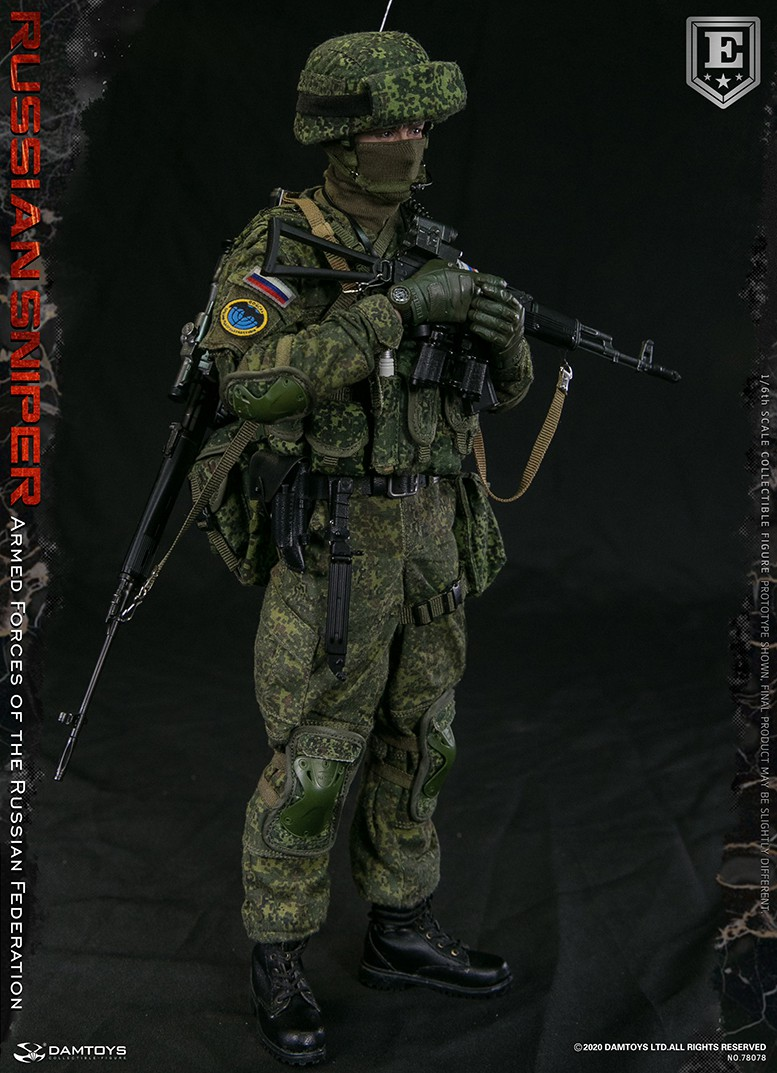 modernmilitary - NEW PRODUCT: DAMTOYS: 1/6 Russian Armed Forces-Russian Sniper Special Edition 78078S / Elite Edition 78078 16172010