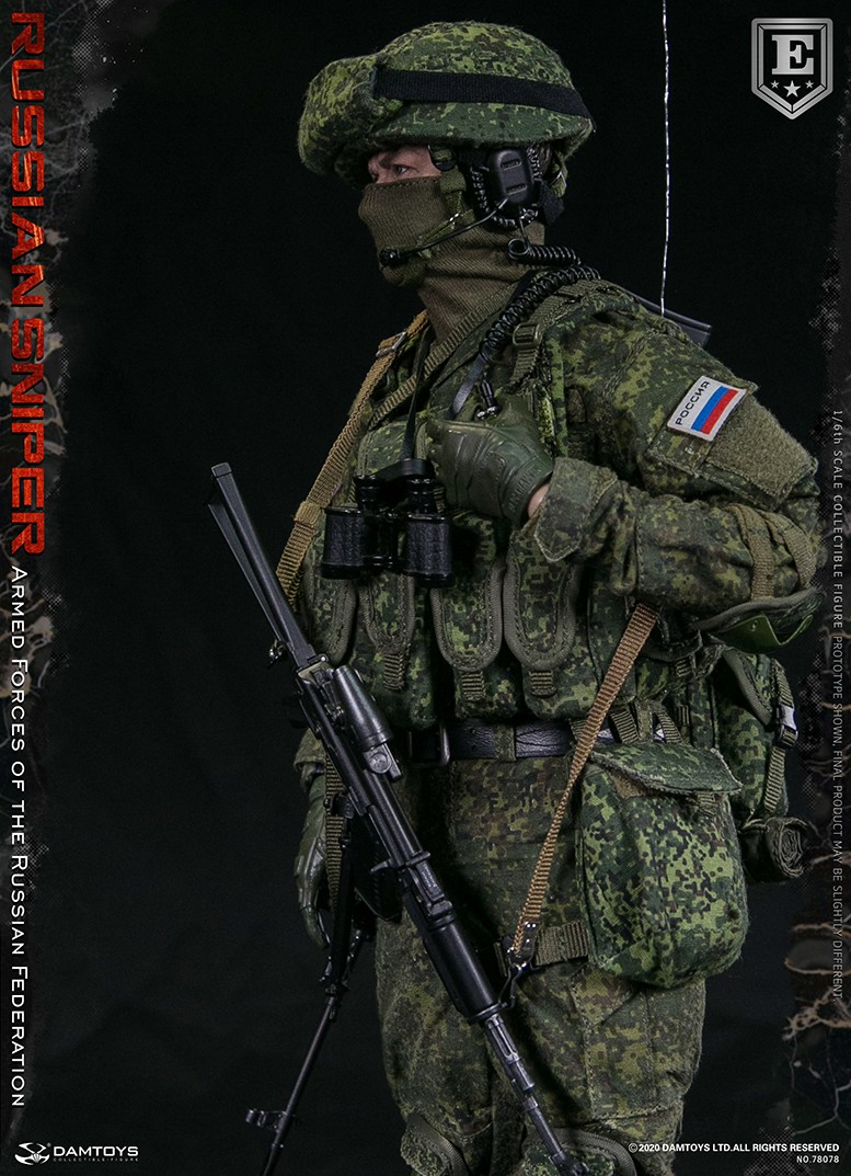 modernmilitary - NEW PRODUCT: DAMTOYS: 1/6 Russian Armed Forces-Russian Sniper Special Edition 78078S / Elite Edition 78078 16172011