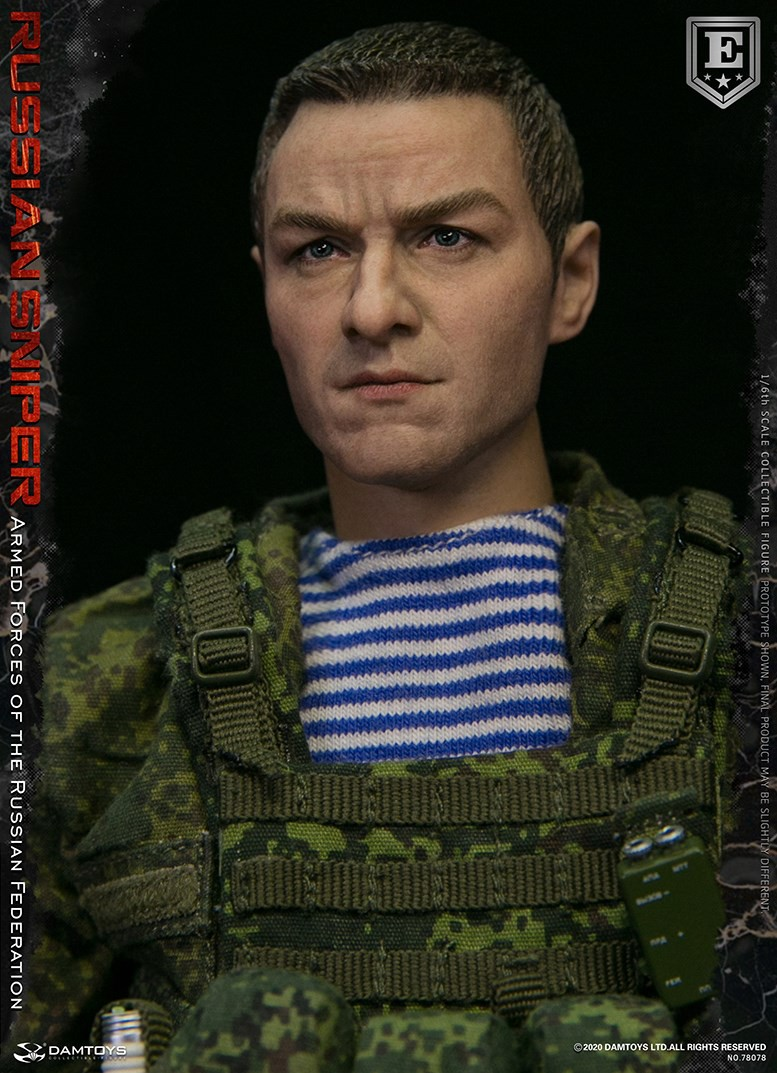 modernmilitary - NEW PRODUCT: DAMTOYS: 1/6 Russian Armed Forces-Russian Sniper Special Edition 78078S / Elite Edition 78078 16172210
