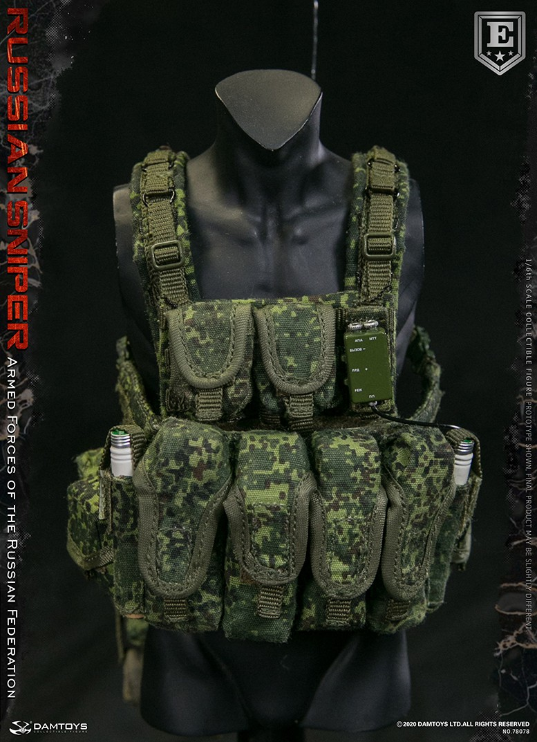 modernmilitary - NEW PRODUCT: DAMTOYS: 1/6 Russian Armed Forces-Russian Sniper Special Edition 78078S / Elite Edition 78078 16172211