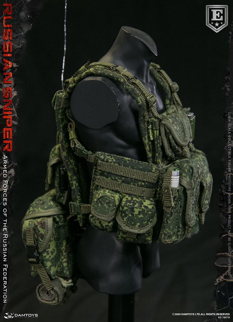 modernmilitary - NEW PRODUCT: DAMTOYS: 1/6 Russian Armed Forces-Russian Sniper Special Edition 78078S / Elite Edition 78078 16172310