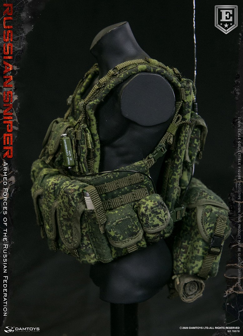modernmilitary - NEW PRODUCT: DAMTOYS: 1/6 Russian Armed Forces-Russian Sniper Special Edition 78078S / Elite Edition 78078 16172311