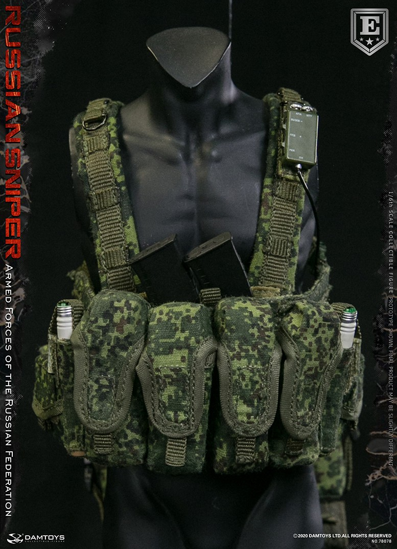 modernmilitary - NEW PRODUCT: DAMTOYS: 1/6 Russian Armed Forces-Russian Sniper Special Edition 78078S / Elite Edition 78078 16172410