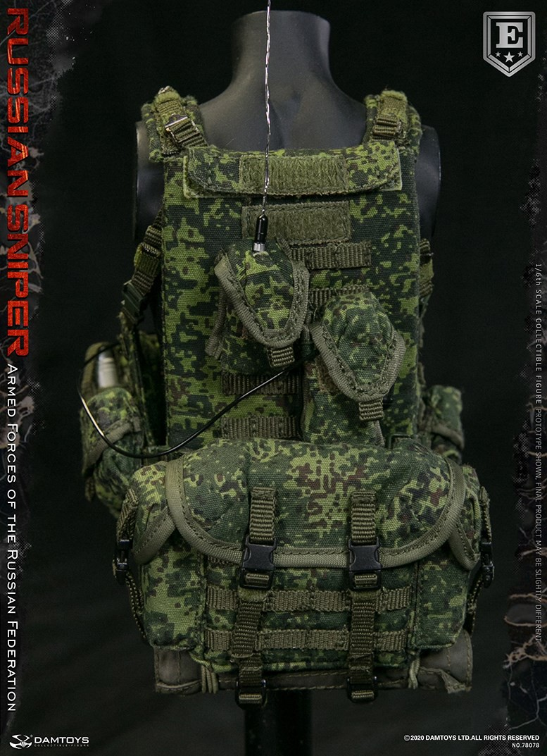 modernmilitary - NEW PRODUCT: DAMTOYS: 1/6 Russian Armed Forces-Russian Sniper Special Edition 78078S / Elite Edition 78078 16172411