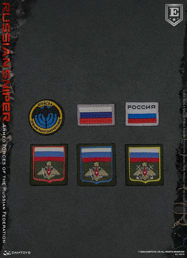modernmilitary - NEW PRODUCT: DAMTOYS: 1/6 Russian Armed Forces-Russian Sniper Special Edition 78078S / Elite Edition 78078 16172910