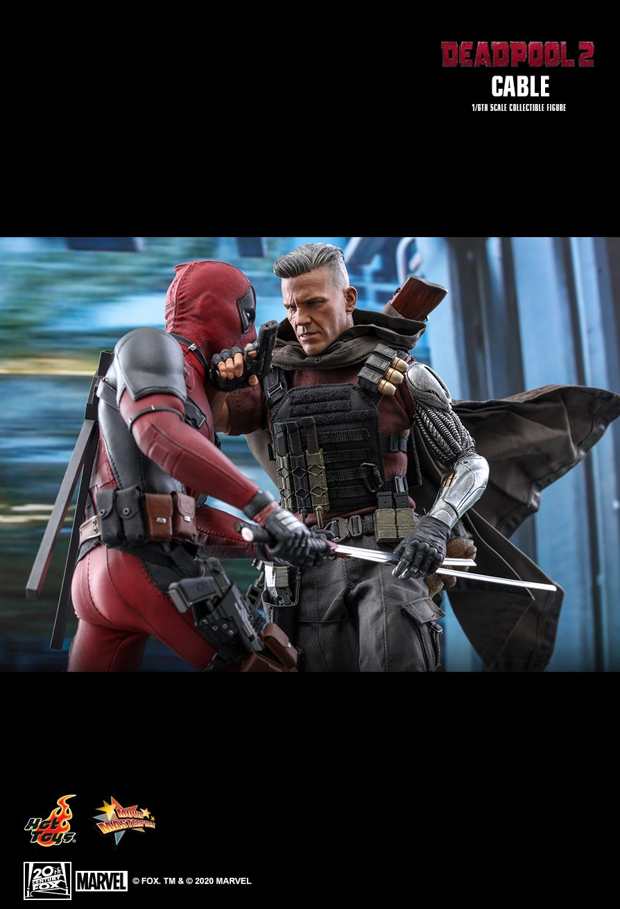 NEW PRODUCT: HOT TOYS: DEADPOOL 2 CABLE 1/6TH SCALE COLLECTIBLE FIGURE 16188