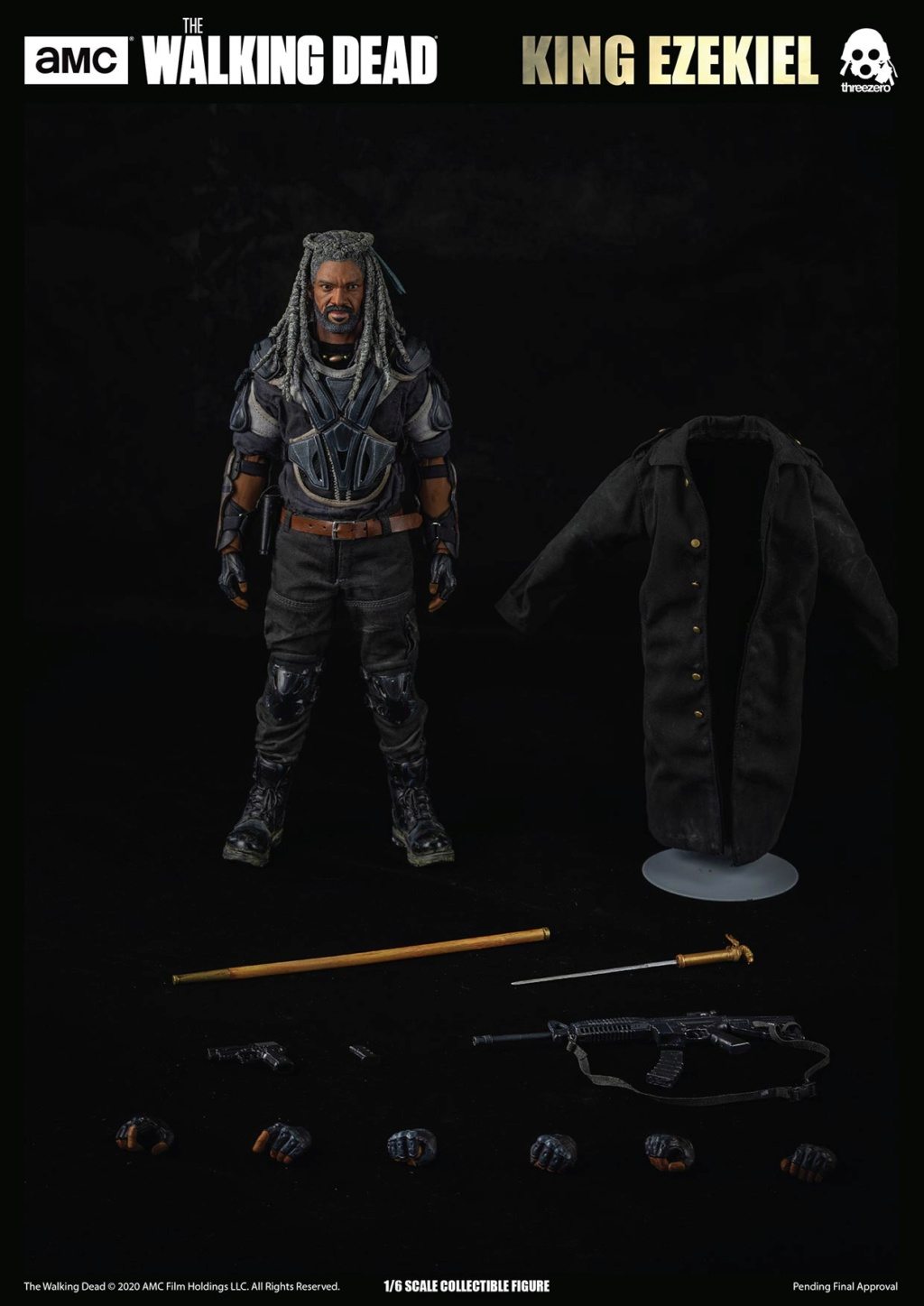 walkingdead - NEW PRODUCT: Threezero: The Walking Dead – 1/6 King Ezekiel 16190