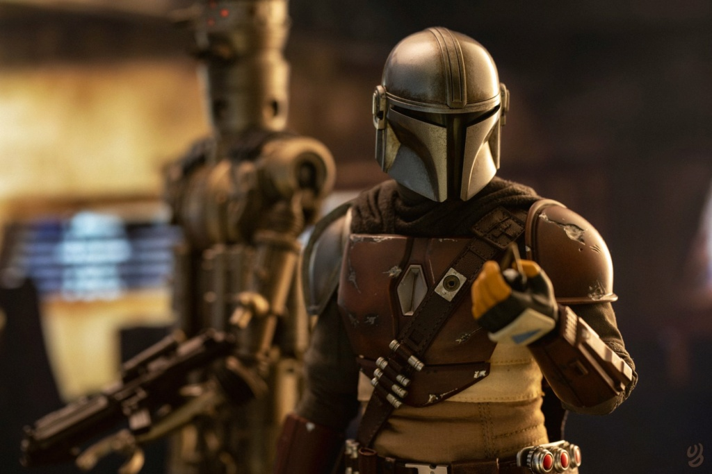 NEW PRODUCT: HOT TOYS: THE MANDALORIAN -- THE MANDALORIAN 1/6TH SCALE COLLECTIBLE FIGURE 16193