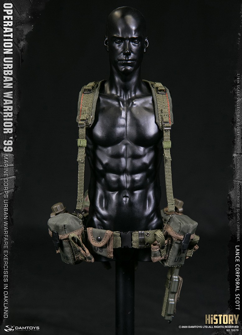 MarineCorps - NEW PRODUCT: DAMToys: 1/6 '99 City Warrior Operation-Marine Corps Oakland City Battle Exercise - Lance Corporal Scott #78079 16196